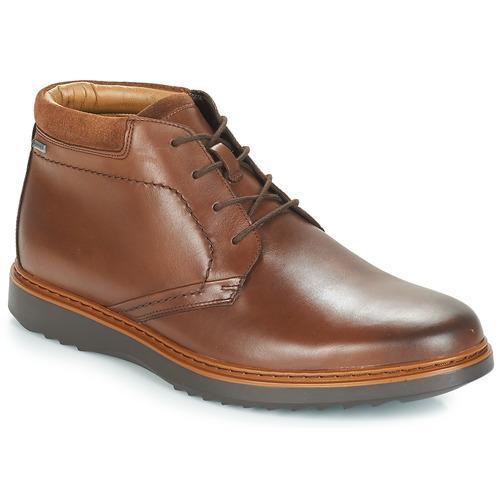 Chaussures Homme Boots Clarks UN Marron