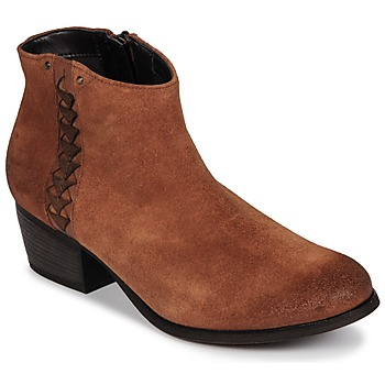 Chaussures Femme Bottines Clarks MAYPEARL Dark Tan Suede