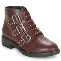 Chaussures Femme Boots Coolway CHIP Bordeaux