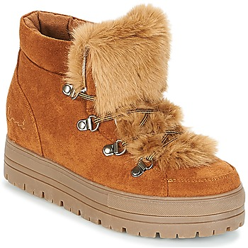 Chaussures Femme Boots Coolway OSLO Camel