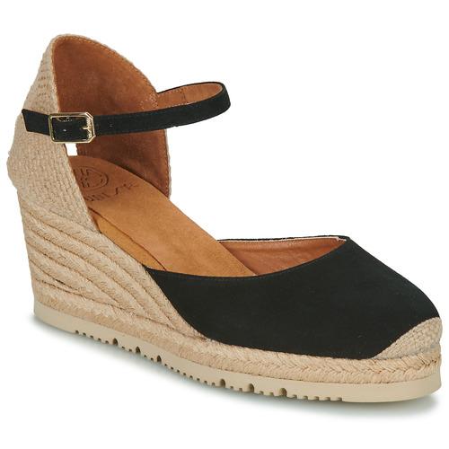 Chaussures Femme Sandales et Nu-pieds Unisa CACERES Noir