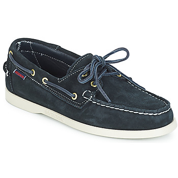 Chaussures Homme Chaussures bateau Sebago DOCKSIDES SUEDE Marine
