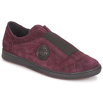 Chaussures Femme Slip ons Pataugas Jelly Aubergine