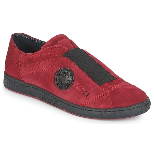 Chaussures Femme Slip ons Pataugas Jelly Rouge