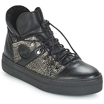Chaussures Femme Baskets montantes Pataugas Whip Noir