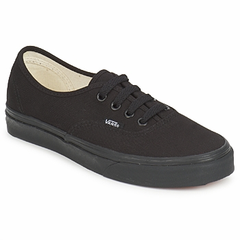 Chaussures Baskets basses Vans AUTHENTIC Noir