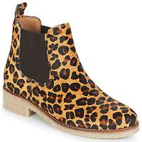Chaussures Femme Boots Bensimon BOOTS CREPE Léopard