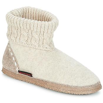 Chaussures Femme Chaussons Giesswein FREIBURG Beige