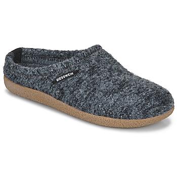 Chaussures Femme Chaussons Giesswein VEITSCH Gris