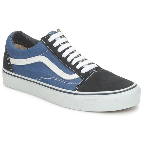 Chaussures Baskets basses Vans OLD SKOOL Bleu