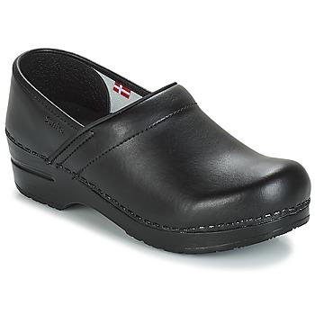 Chaussures Homme Sabots Sanita PROF Noir
