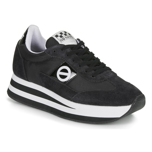Chaussures Femme Baskets basses No Name FLEX JOGGER Noir