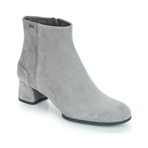 Chaussures Femme Bottines Camper KIE0 Boots Gris