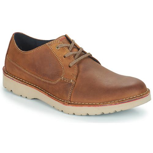 Chaussures Homme Derbies Clarks VARGO PLAIN Marron