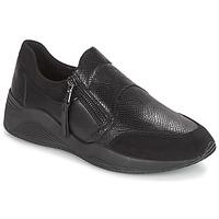 Chaussures Femme Baskets basses Geox D OMAYA Noir