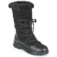 Chaussures Femme Bottes de neige Geox D HOSMOS B ABX Noir