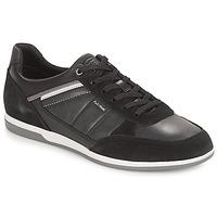 Chaussures Homme Baskets basses Geox U RENAN Noir