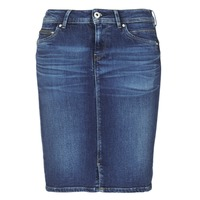 Vêtements Femme Jupes Pepe jeans TAYLOR Bleu Medium