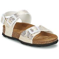 Chaussures Fille Sandales et Nu-pieds Betula Original Betula Fussbett JEAN Python Or