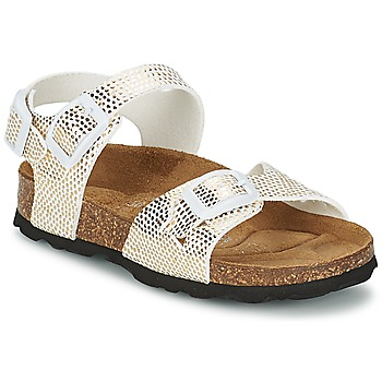 Chaussures Air max tnFille Sandales et Nu-pieds Betula Original Betula Fussbett JEAN Python Or