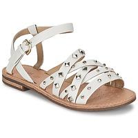 Chaussures Air max tnFemme Sandales et Nu-pieds Geox JOLANDA E Blanc