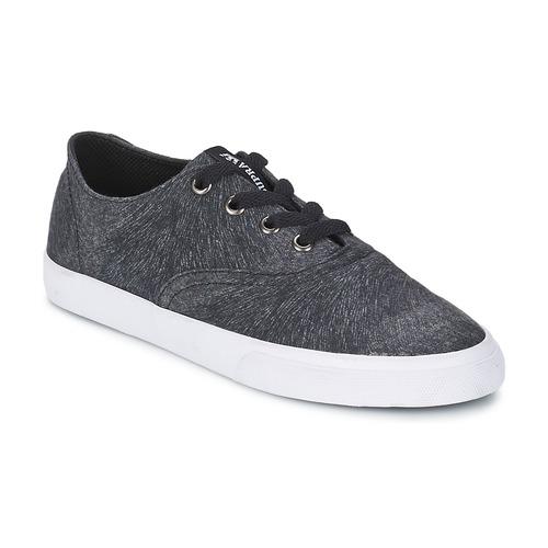 Chaussures Femme Baskets basses Supra WRAP Noir / Blanc