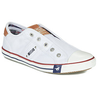 Chaussures Femme Baskets basses Mustang NAJERILLA Blanc
