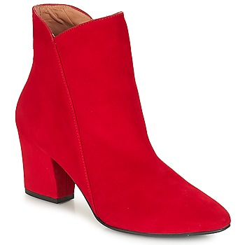 Chaussures Femme Bottines Fericelli JORDENONE Rouge