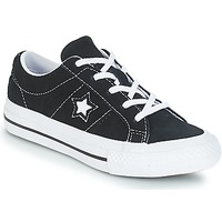 Chaussures Enfant Baskets basses Converse ONE STAR OX Black/White