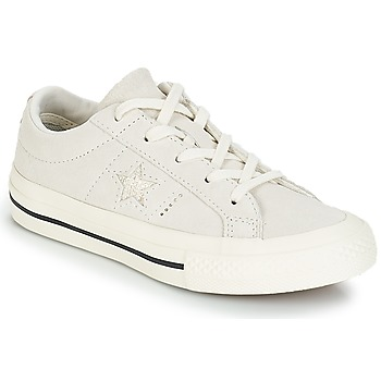 Chaussures Enfant Baskets basses Converse ONE STAR OX blanc