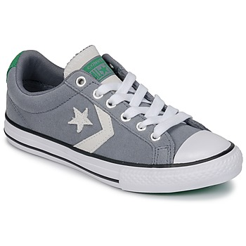 Chaussures Enfant Baskets basses Converse STAR PLAYER OX Cool Grey/Green/White