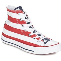 Chaussures Baskets montantes Converse CHUCK TAYLOR ALL STAR PRINT HI Stars