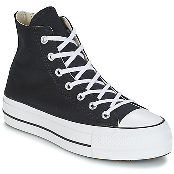 Chaussures Femme Baskets montantes Converse CHUCK TAYLOR ALL STAR LIFT CANVAS HI Noir