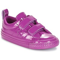 Chaussures Fille Baskets basses Converse ONE STAR 2V SYNTHETIC OX Violet