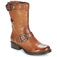 Chaussures Femme Boots Dream in Green ILINE Marron