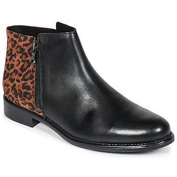 Chaussures Femme Boots Betty London JINANE Noir / marron