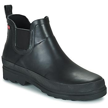Chaussures Femme Bottes de pluie Sanita FELICIA Noir
