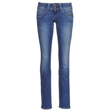 Vêtements Femme Jeans droit Pepe jeans VENUS Bleu medium
