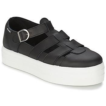 Chaussures Femme Sandales et Nu-pieds Victoria SANDALIA PIEL Noir