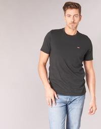 Vêtements Homme T-shirts manches courtes Levi's SS ORIGINAL HM TEE Noir