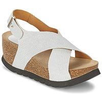 Chaussures Femme Sandales et Nu-pieds Ganadora SARA Blanc