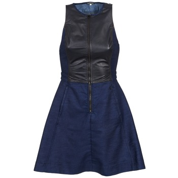 Vêtements Femme Robes courtes G-Star Raw SUTZIL DRESS Marine / Noir