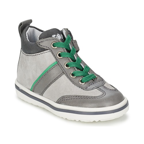 Chaussures Enfant Baskets montantes Acebo's ABARNE Gris