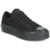 Chaussures Femme Baskets basses Converse CHUCK TAYLOR ALL STAR CLEAN LIFT MONO CANVAS OX Noir
