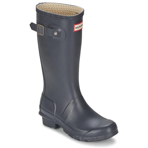 Chaussures Enfant Bottes de pluie Hunter ORIGINAL KIDS Marine