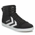 Chaussures Baskets montantes Hummel TEN STAR HIGH CANVAS Noir / Blanc