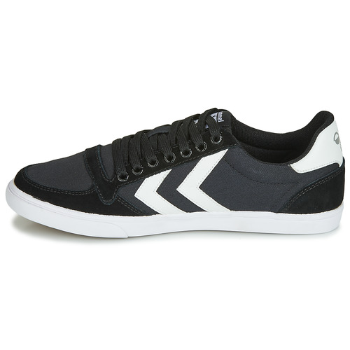 Hummel TEN STAR LOW CANVAS Noir / Blanc