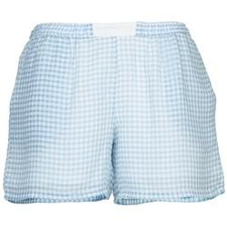 Vêtements Femme Shorts / Bermudas Brigitte Bardot ANGELIQUE Bleu / Blanc