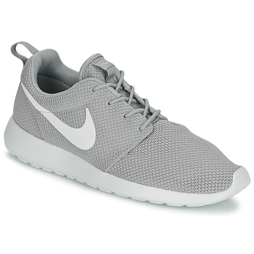 Chaussures Homme Baskets basses Nike ROSHE ONE Gris / Blanc