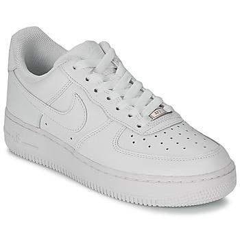 Nike AIR FORCE 1 07 LEATHER W Blanc